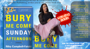 "Welcome to the Online Book Tour: Nike Campbell-Fatoki's ""Bury Me Come Sunday Afternoon."""