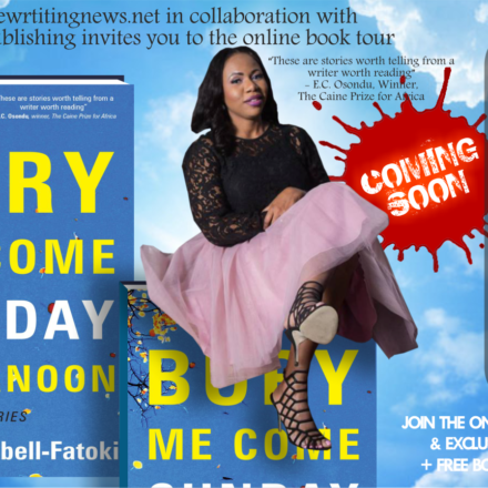 """Announcement: Online Book Tour of Nike Campbell-Fatoki's """"Bury Me Come Sunday Afternoon."""""""