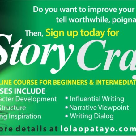 StoryCrafting: An online Writing Course For Beginners and Intermediate Writers