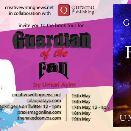 Announcement: Online Book Tour of Guardian of the Fall