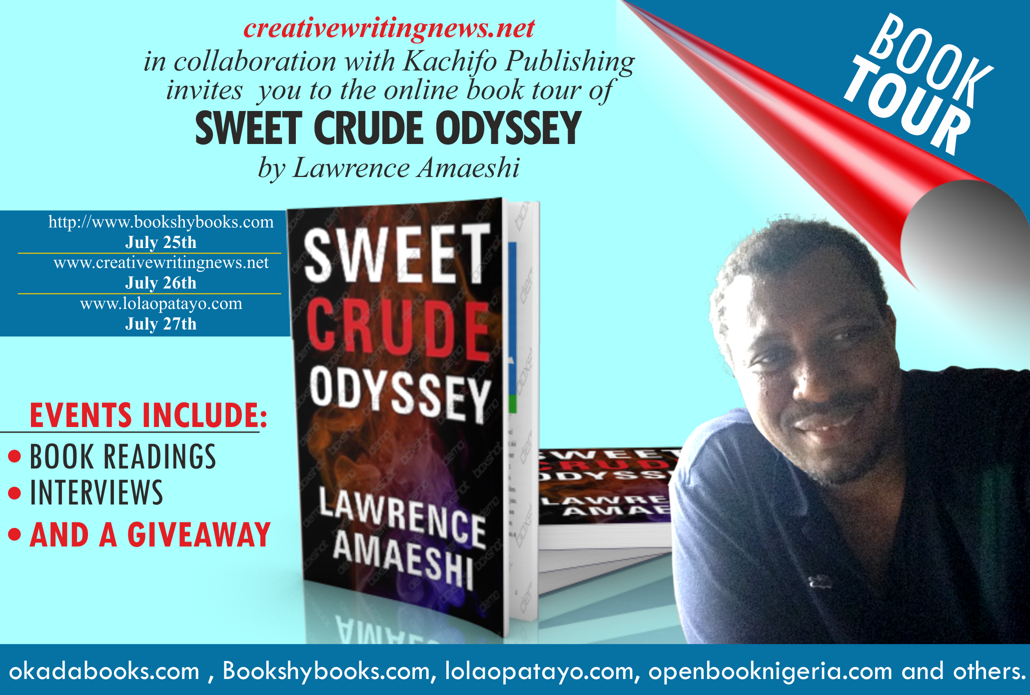 Book Tour: Lawrence Amaeshi's Sweet Crude Odyssey